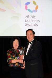 Ethnic Business Awards - Mr&Mrs Ngai