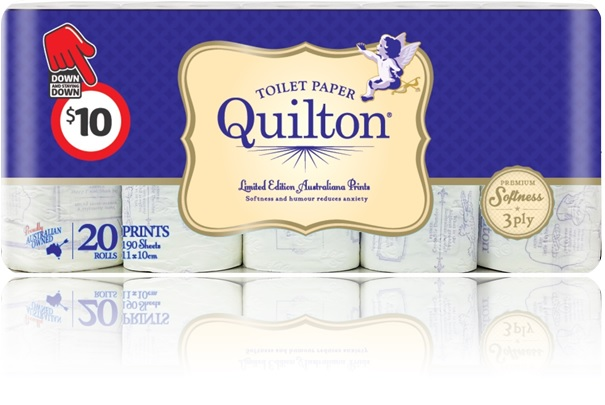 Quilton 20pk Vintage V.2 3D render - reflection