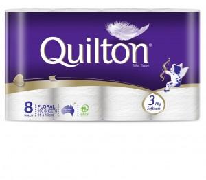 Quilton Toilet 8pkApr13
